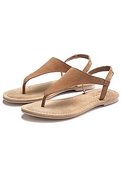 Faux Suede Sandals product image (X60116CG_1)