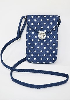 Mini Printed Crossbody Bag product image (X63006.BLSL.P1)