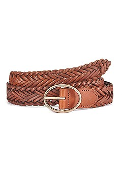 Woven Leather Belt product image (X63020CG_1)