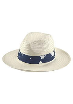 Star Ribbon Accent Hat product image (X63035NA)