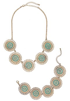 Necklace and Bracelet Set product image (X63041.GDTQ.P3)