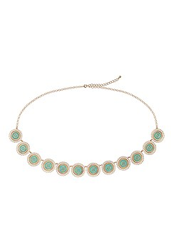 Embellished Plate Chain Belt product image (X63042GDTQ_2)