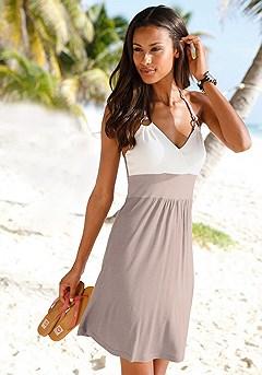 Color Block Dress product image (x29013-tpmu1)